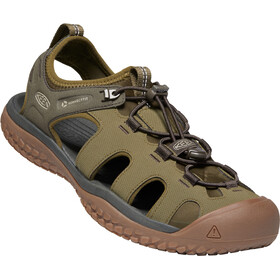 Keen Solr Sandalias Hombre, dark olive/taupe